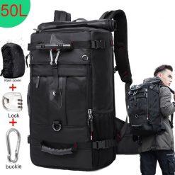 50L Waterproof Travel Backpack