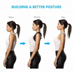 Adjustable Posture Corrector and Back Support Brace