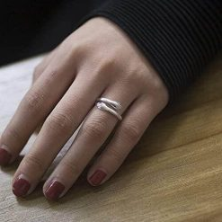 Couple Hug Ring for Lovers