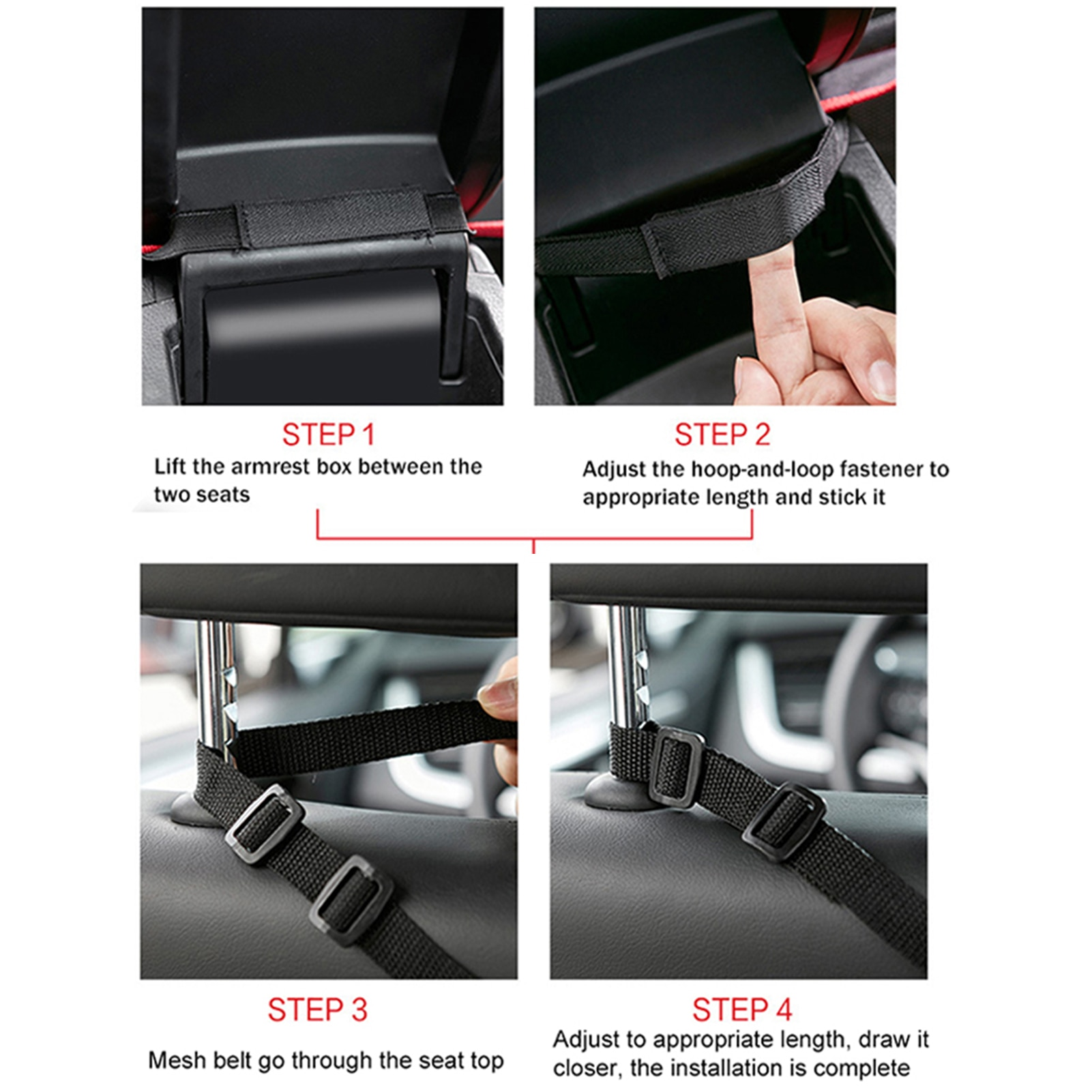 Universal Car Seat Side Storage Mesh Net Bag Luggage Holder Pocket Trunk Cargo Nets Organizer Auto Car Net Handbag Holder