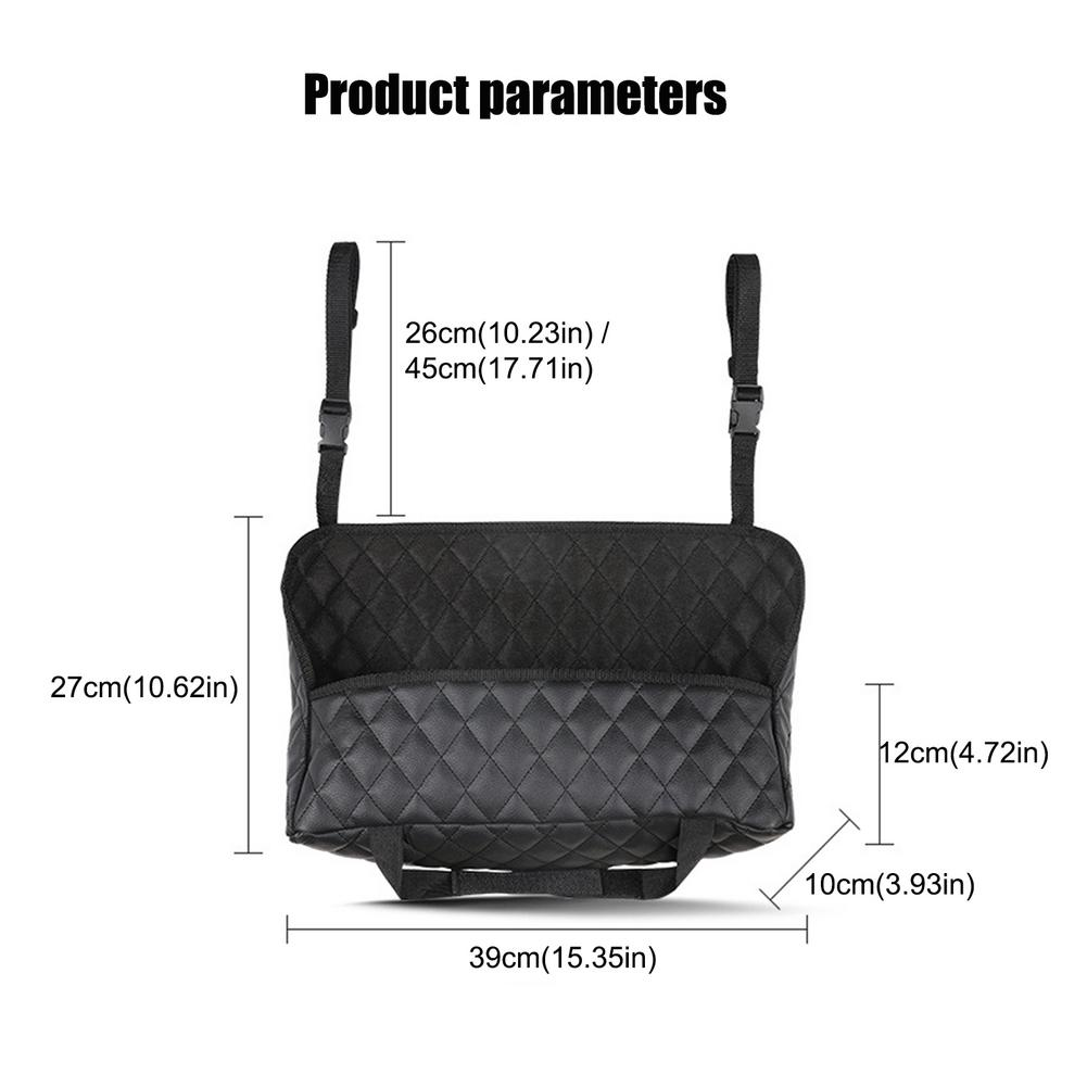 New Storage Pocket Between Car Seats Car Net Pocket Handbag Holder Multifunctional Car Organizer 2021 Car Handbag Holder Hot