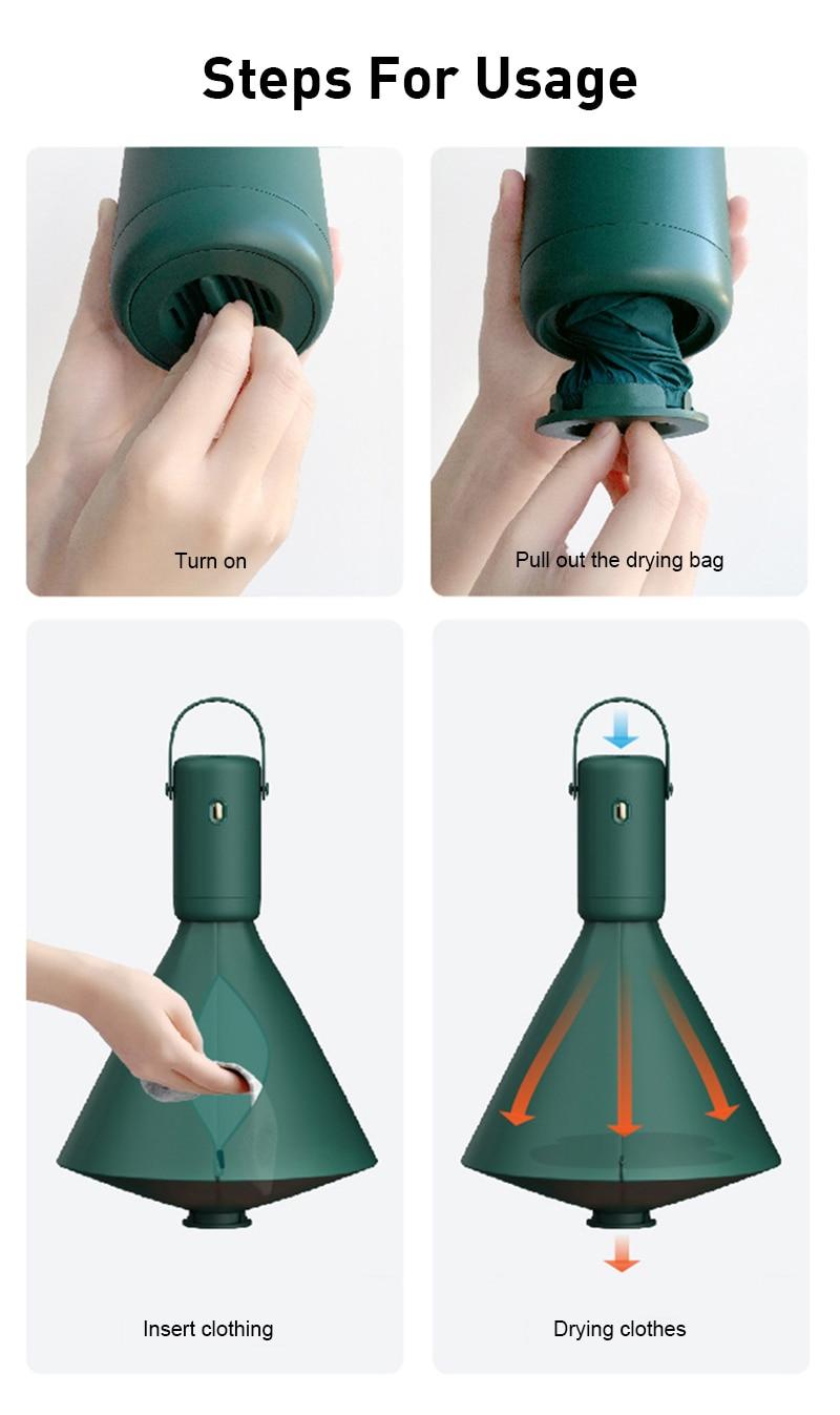 Portable mini dryer Traveclo